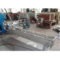 Plastic Film Granule Plastic Extruder Machine , Two Step Pelletizer Machine