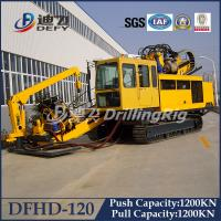 Best 120T Horizontal Directional Drilling rig HDD machine Rig DFHD-120 wholesale