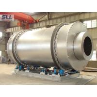 Best Low Fuel Consumption Sand Dryer Machine Rotating Drum Dryer With Burner Natural Gas wholesale