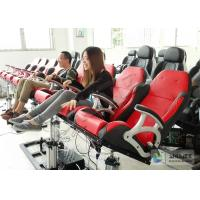 Best Electronic Dynamical 4D Cinema Equipment With 100 Seats in Red wholesale