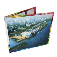 China children colorful fairy tales 3D puzzle books printing service on sale