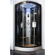 Best Sliding Open Style Corner Steam Shower Bath Cabin Spa Shower Units With Radio wholesale