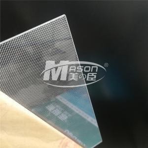 Best Laser Dotting Engraving 2.0mm Acrylic Light Guide Plate For Light Box wholesale