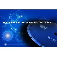 China diamond blade for stone cutting -wanlong diamond blade warehouse in china - diamond blade knives for stone slab and tile on sale