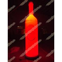 Cheap Bottle Inflatable Lighting Balloon for sale