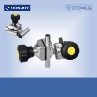 Quality Multiport Sanitary Diaphragm Valve , Three port valve with Welding Ends wholesale