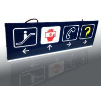 Best Shopping Mall Interior Wayfinding Signage , Double Sides Outdoor Wayfinding Signs wholesale