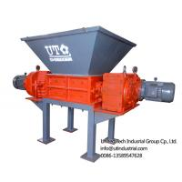 Best double shaft shredder / solid waste solved / two rotors crusher / 2 engines shredder for waste crushing and recycling wholesale
