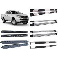 Best Optional Alloy and Steel Side Step Boards for 2015 Mitsubishi Triton L200 Pick Up wholesale