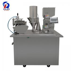 China Pharmaceutical Powder Semi Auto Capsule Filling Machine on sale