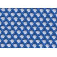 Best Warp Knitted Craft Plastic Mesh , Plastic Square Mesh With Multi Color wholesale