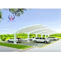 Steelwork Frame Car Parking Tensile Structure Car Shade Cover Firm Lasting