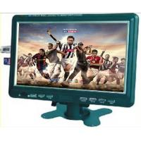 "Best AV Input 9 "" LCD Advertising Monitor , MMC Green Media Player For AD wholesale"