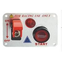 Best 12 Volt Power Speediness Racing Car Switch Panel With Red Indicator Light wholesale