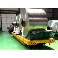 Best Facoty Material Transfer Self-Propelled Motorized Trackless Coil Handling Carts With Battery Driven wholesale