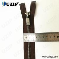 China suppliers #7 anti sliver heavy duty separating jacket zippers
