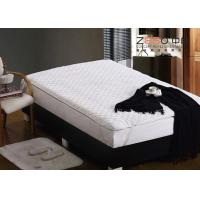 Best hotel bed mattress topper White Color , hospital bed mattress topper 400GSM wholesale
