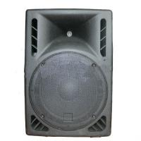 China 15″2 Way Active Plastic Cabinet Speaker , 190 Watts RMS 110 / 230V on sale
