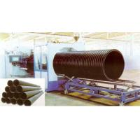Best Hollow Wall HDPE Pipe Extrusion Machine , 200 - 2000mm Large Diameter wholesale