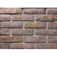 Best Decoration Wall Thin Veneer Brick , Antique Texture Fire Clay Bricks For Building wholesale