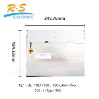 Buy cheap 600 cd/m2 TFT LCD Panel G121X1-L03 WXGA 1024x768 60Hz Frequency from wholesalers