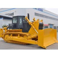 Cheap 320HP SD32 SHANTUI Crawler Bulldozer With 335.5L / Min Displacement for sale