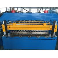 5T Corrugated Roll Forming Machine , Roofing Sheet Making Machine Hydraulic Power