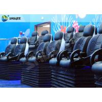 Best Blue Marine Theme 5d Cinema Theater With Kids Animation And 5D Motion Chairs In Marine Park wholesale