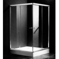Best Single Rectangular Shower Cubicles , 1000 X 800 Two Sided Glass Shower Enclosure wholesale