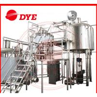 Best 100L - 5000L Beer Brewing Equipment Commercial With Whirlpool Tank wholesale
