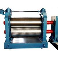 Best Automatic Aluminum Embossing Machine , Metal Embossing Machine 5.5KW 12m / min wholesale