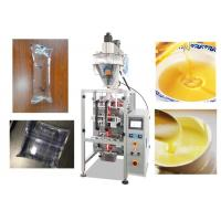 China Stainless Steel Automatic Liquid Pouch Packing Machine 0.5 - 1% High Accuracy on sale
