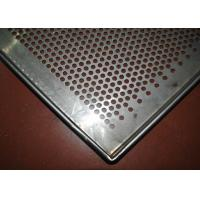 Best Perforated Stainless Steel Wire Mesh Tray Dehydrated 5-10mm Frame Diameter wholesale