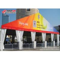 China Fireproof A Shape Outdoor Show Tents , Aluminum Frame Large Exhibition Tent on sale