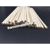 Best 98.3---99.9% MgO Magnesia ceramic pipes tubes pin rod for cartridge heater wholesale