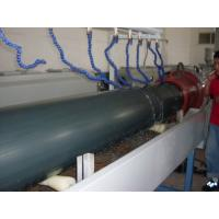 Buy cheap SGS Plastic PE Water Pipe Extrusion Line / PPR Co - Extruder High Output from wholesalers