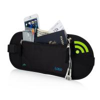 Best Portable Womens Travel Bum Bag  / Travelon Anti Theft Waist Pack wholesale