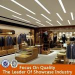 Best Retail New Style Menswear Garment Shop Interior Gesign wholesale