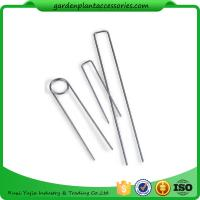 Best Galvanized Silver Earth Garden Landscape Staples Keep Row Covers Item Garden Earth Staples wholesale