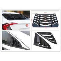 Best Sport Style Rear And Side Car Window Shutters For Honda Civic 2016 2018 wholesale
