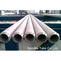 China ERW Seamless Stainless Steel Heat Exchanger Tubes / Tubing 12000 MM Length on sale