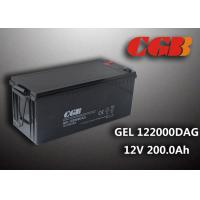 Best 12V 200AH non spillable sealed rechargeable battery , GEL Military Energy Storage Battery wholesale