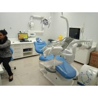 China New type of medical device A6600 with floor-standing side box  dental unit on sale