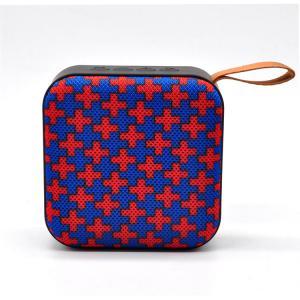 Best Wireless portable outdoor bluetooth speaker, Fabric Square Music Bluetooth speaker wholesale