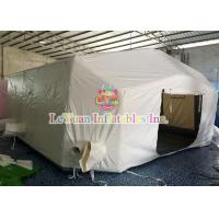 Best Durable Military Inflatable Tent With Repair Kit / Tie Down Points wholesale