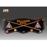 Best Wood Wall Clothes Hanger Wooden Wall Signs Decorative Wall Plaques Pub Sign Green Color wholesale