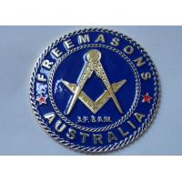 Best Gold Plating Iron or Brass or Copper A.F. & A.M. Adhesive Badge wholesale