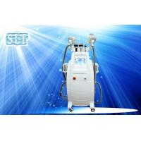 Best Vertical Coolsculpting Fat Freezing Equipment With Ultrasonic Cavitation , Lipolaser , RF wholesale