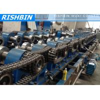Quality Galvanized Steel Z Purlin Roll Forming Machine Hydraulic Punching wholesale