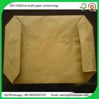 China BMPAPER White Top Test Liner One Side Clay Coated White Back Board for cement bags on sale